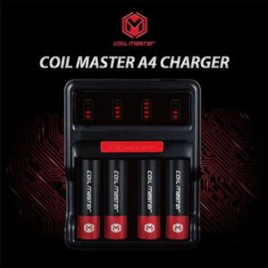 Caricabatterie Coil Master A4