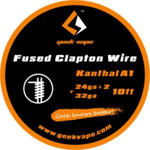 Filo resistivo Geek Vape Fused Clapton Wire