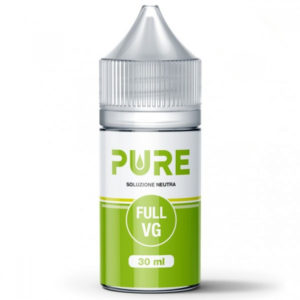 Pure glicerina vegetale 30ml