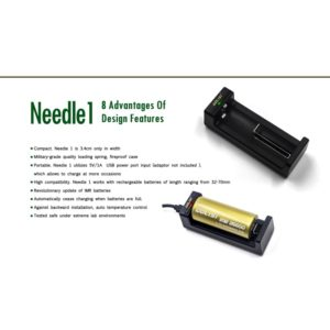 Golisi Caricabatterie Needle 1 Smart USB Charger
