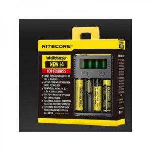 Caricabatterie Nitecore New i4 Intellicharger