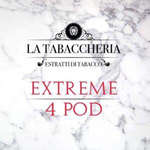 Liquidi Scomposti La Tabaccheria Extreme White 4 Pod
